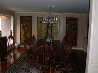Dining Table comfortably seats 10