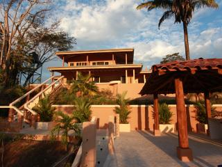 The front view of Casa Soliaz