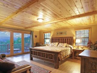 Master King Bedroom - En Suite Full Bathroom - Jacuzzi - Flat Screen Tv - Mountain Views - Deck!