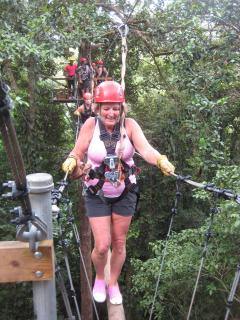 Ziplining and Canopy Tours Chiriqui Also Offers Whitewater Rafting