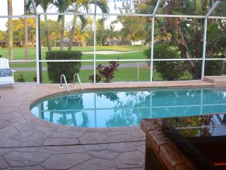 Stunning Golf Course Views/ Lely  Pool Home 3/2 plus den/office