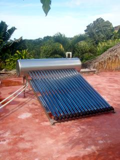 Our new solar water heaters