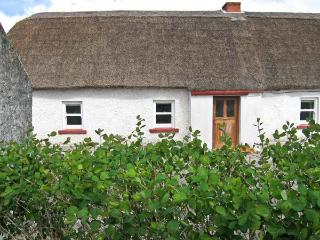 CALLAN THATCHED COTTAGE, character cottage, off road parking, outdoor courtyard