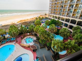 Oceanfront. Overlook Resort & Beach! Free Wifi. Indoor Pool & More!
