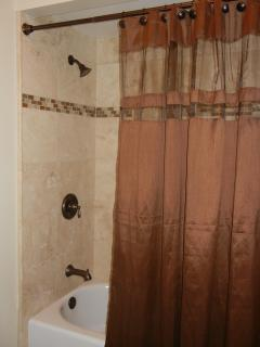 Upstairs Bathroom - Tub and Shower