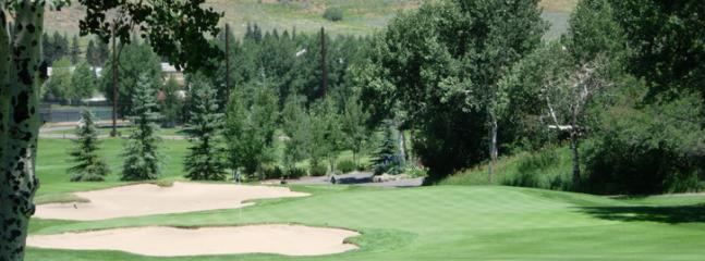 Eagle Vail Golf Course surrounds us