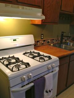 Gas Range with Full size Oven
