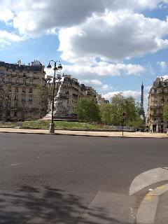 Place Breteuil, two-minute walk away