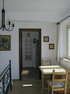 Small Kitchen in Rosa Antica