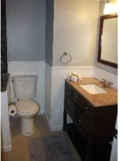 Master Bath with Walk-in Shower and Granite Countertops