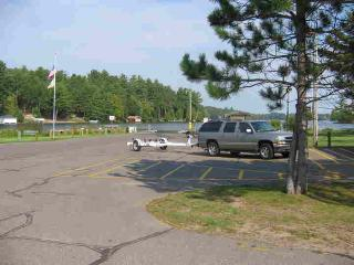 FREE Public Boat Launch steps away