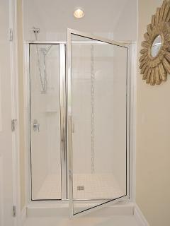 Large Glass Frame Shower Stall