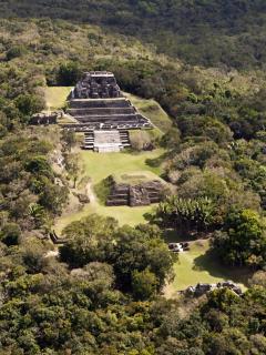 Xunantunich - overlooks Guatemala on the Western border