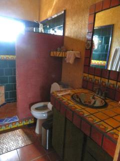 custom tile bathroom/shower
