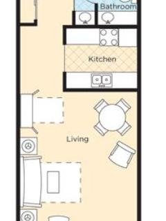 Floorplan - Studio suite