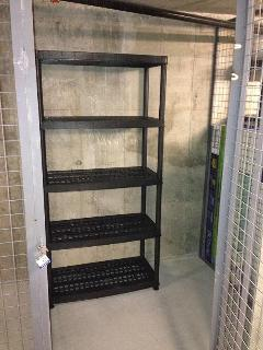 Storage space in the basement