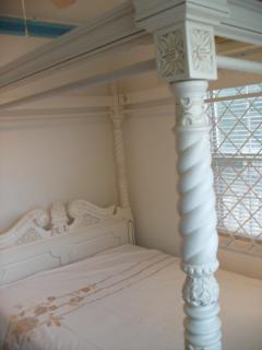 Bedroom 2 with Double four poster bed