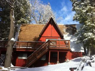True Cabin with a Golf Course View - with A/C, Lake Arrowhead