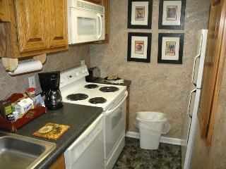 Galley Kitchen with Dishwasher