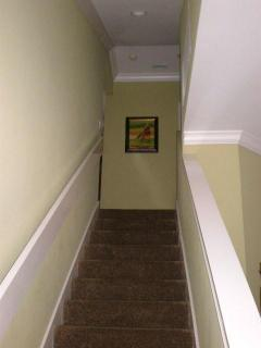 Stairs to Bedroom 3 and 4
