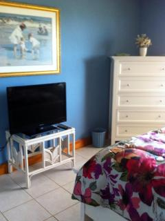 MBR with TV and Dresser