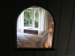 peek through front door