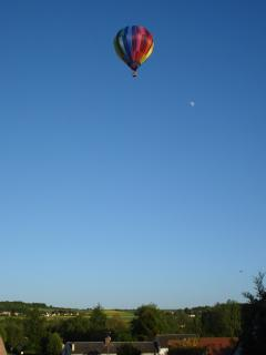 Sunday morning ballooning - view from the terrace