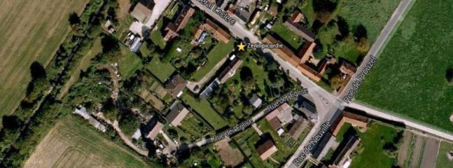 Satellite closeup of Zen In Picardie