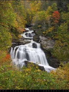 cullasaja falls is very near