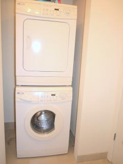 Laundry in the unit