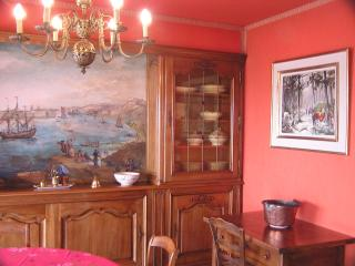 Dining Room with hand painted oil pictures