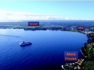 Located on the Hamakua Coast just 2 miles north of downtown Hilo