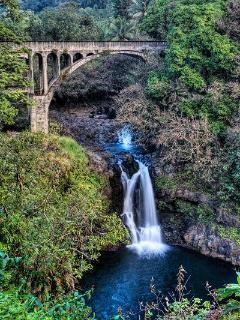 3rd waterfall on Kahoa Street