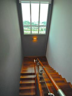 Stairwell looking down