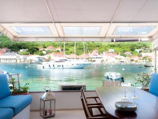 Mahi at Gustavia, St. Barth - On the Dock of the Harbour, Walking Distance to Shell Beach