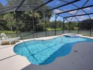 Beautiful villa, pool,spa&games room with conservation to rear 15mins to Disney