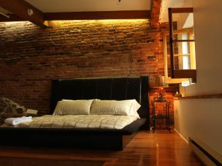 Brick & Hardwood Executive Loft in Old Montreal