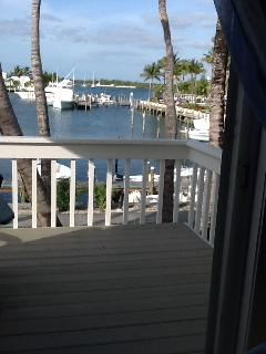 balcony veiw from master bedroom