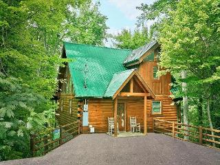 Secluded 1 bedroom Log Cabin Sky Harbor Resort Pigeon Forge Gatlinburg TN