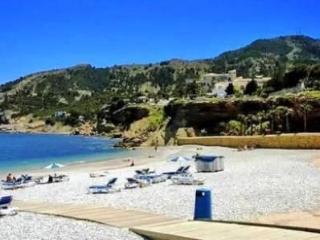 View of the Villa Julieta from the beach of Albir