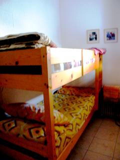 bunk beds in the nursery room