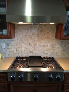 Themador Professional series cooktop with grill