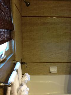 Second bathroom with Shower/Tub Combo
