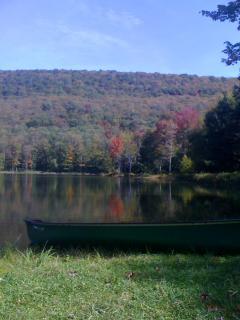 Canoe on your lake!