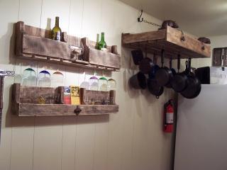 Wine and pot rack