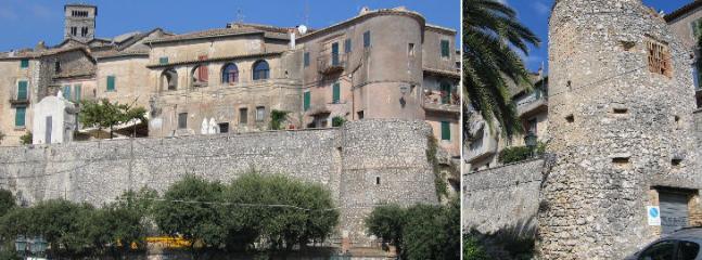 Casperia: the medieval wall