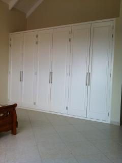 Plenty of storage space in the bedrooms