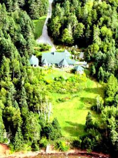 Aeria view of Villa Verdi Estate