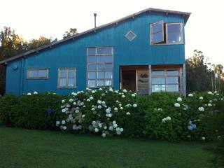 Casa en Chiloe, en medio del campo y bosque nativo, Queilén