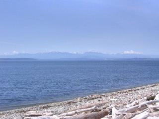 Salmon Run Beach Getaway - right on the beach! Olympic Mountain view